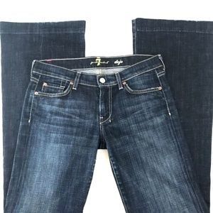 """7 For All Mankind Jeans - 7 For All Mankind Dojo Wide Leg Sz 27 x 33"""" LONG"""